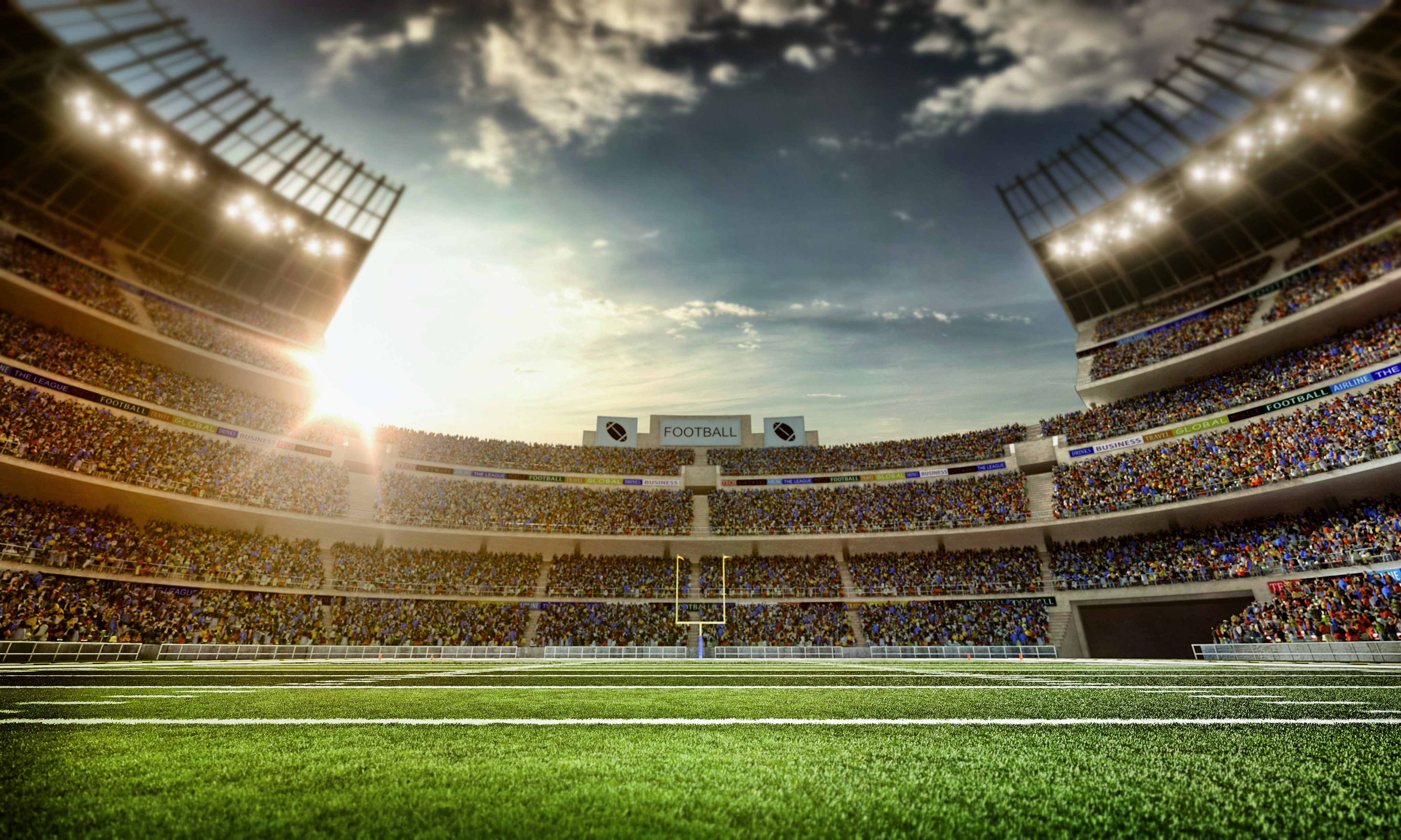 Get Real Time Information from the Crowd at the Big Game.