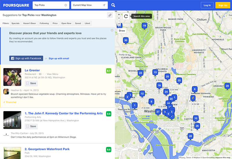 What is Foursquare? Hyperlocal Business Intelligence