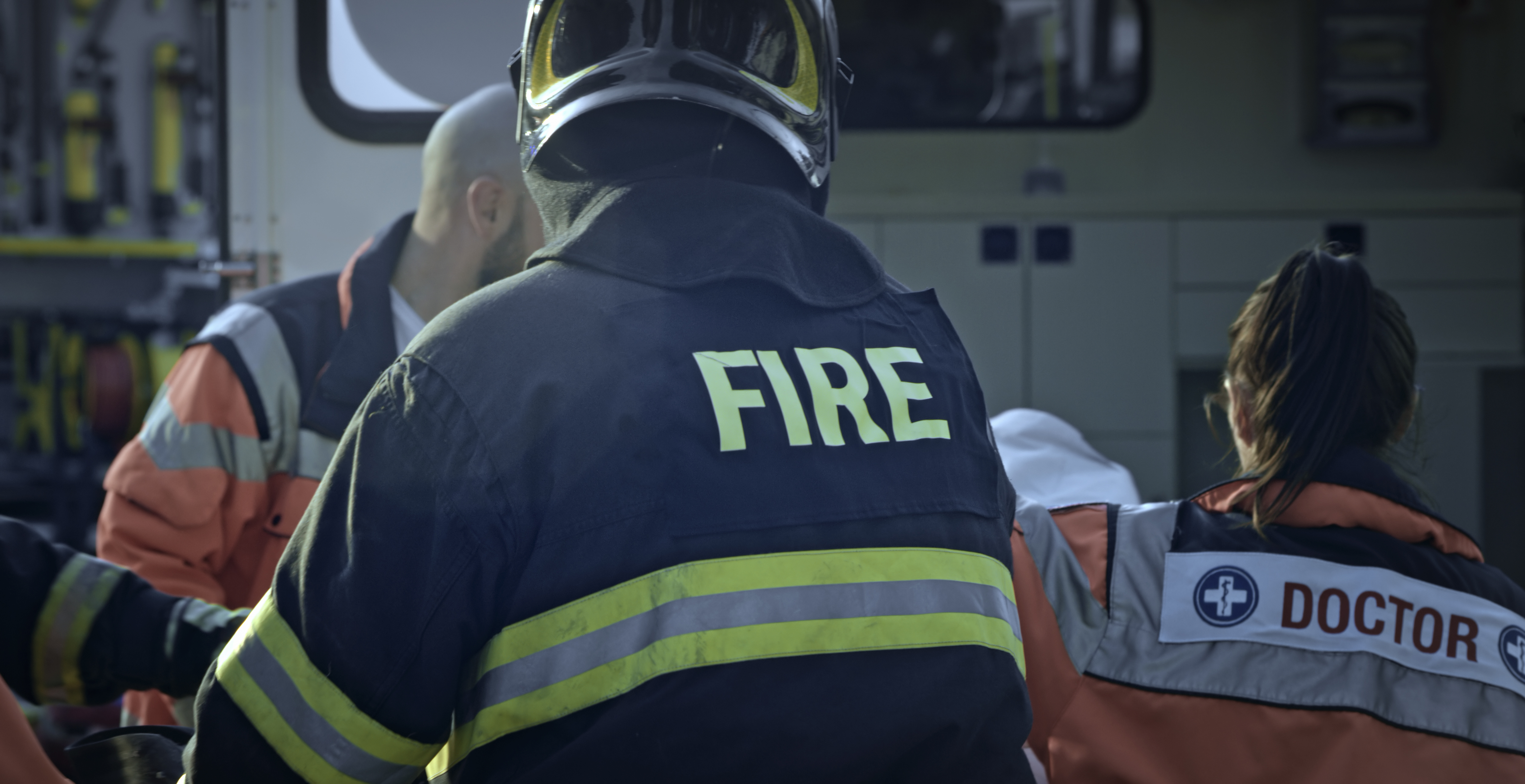 iStock-fire department public safety doctor emergency response