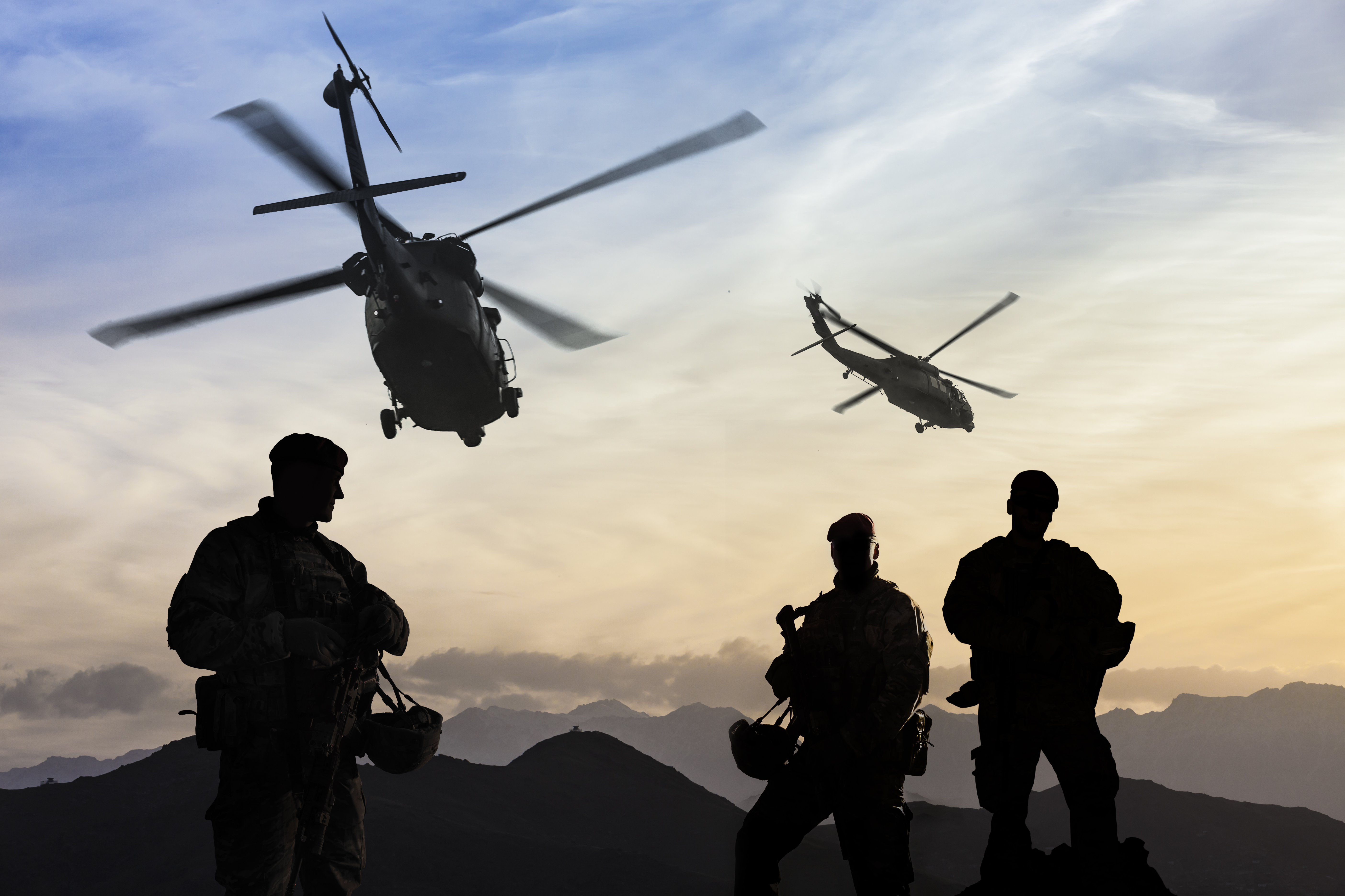 iStock-military defense defence helicopters army